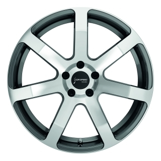 Corspeed Corspeed challenge Higloss-Gunmetal-polished / undercut Color Trim RAL