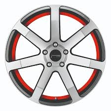 Corspeed Corspeed challenge Higloss-Gunmetal-polished / undercut Color Trim rot