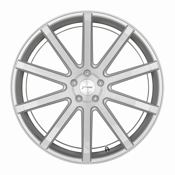 Corspeed Corspeed deville Silver-brushed-Surface/ undercut Color Trim wei?