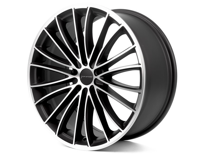 Corspeed Corspeed le mans Mattblack-polished