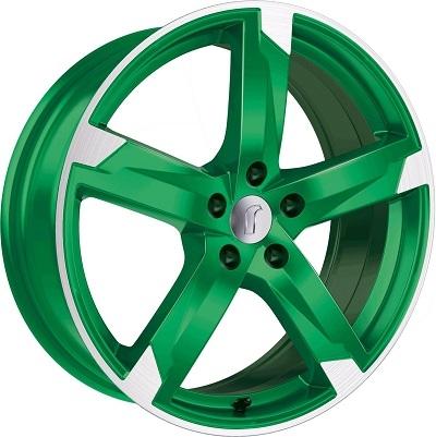 Rondell 01RZ Racing-Gr?n poliert