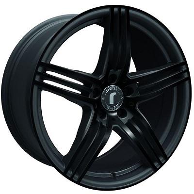 Rondell 0217 ELPHO Black, Glossy Black Elpho polish