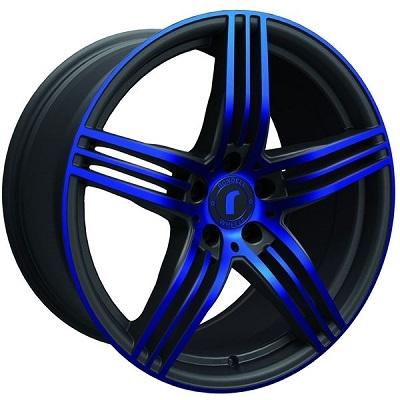 Rondell 0217 ELPHO Black, Glossy Blue Elpho polish