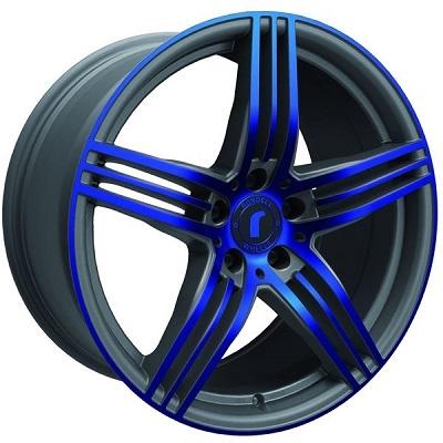 Rondell 0217 ELPHO Grey, Glossy Blue Elpho polish