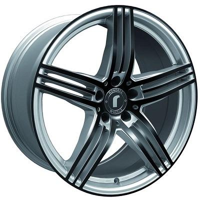Rondell 0217 ELPHO Silver, Glossy Black Elpho polish
