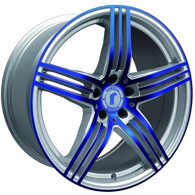 Rondell 0217 ELPHO Silver, Glossy Blue Elpho polish