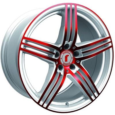 Rondell 0217 ELPHO White, Glossy Red Elpho polish