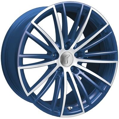 Rondell 08RZ Metallic-Blau-Matt poliert