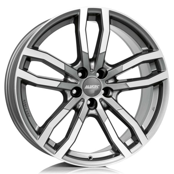 Alutec DriveX metal-grey frontpoliert