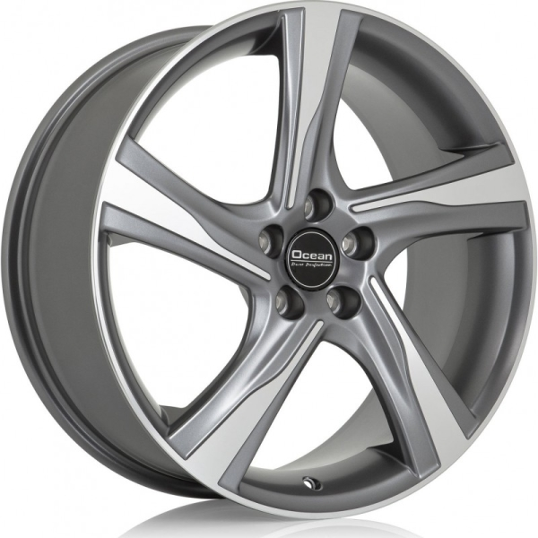OCEAN WHEELS Storm (Not O.E.M) antracit front polished