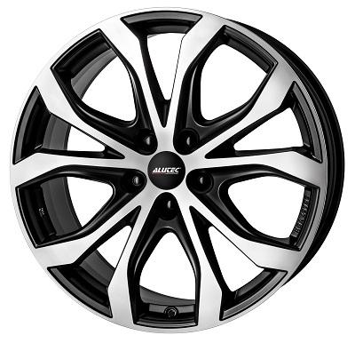 Alutec W10 racing-schwarz frontpoliert