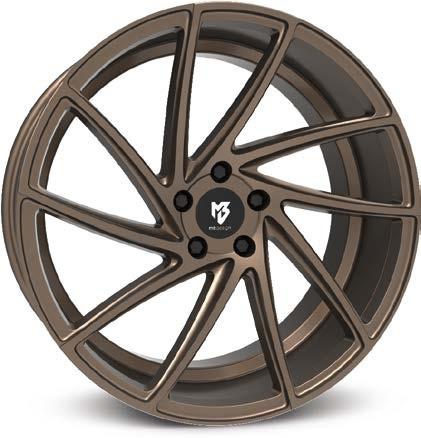 Mb design KV2 Bronze seidenmatt