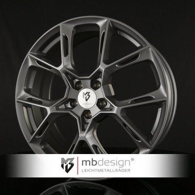 Mb design KX1 Blank Grå / Poleret