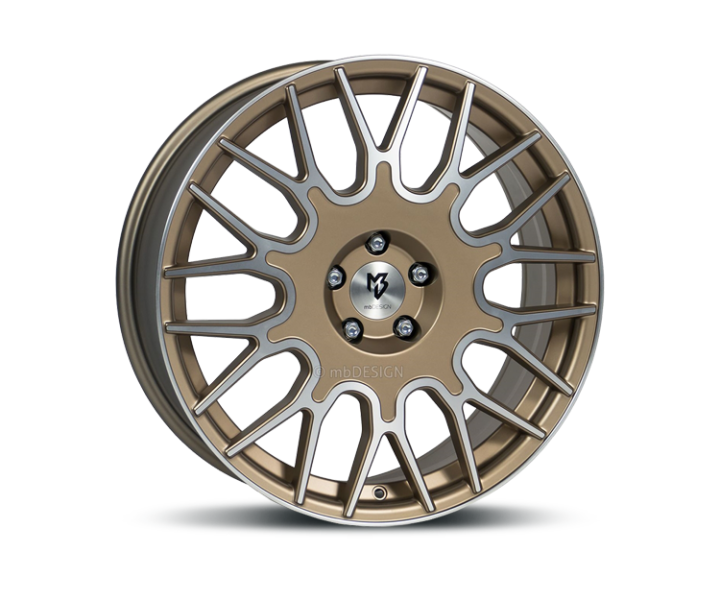Mb design LV2 Bronze Matt / Poleret