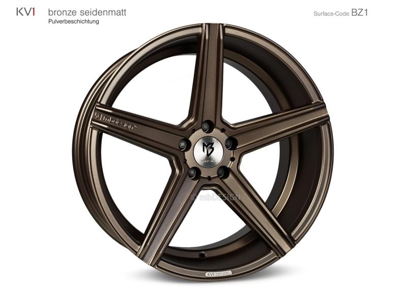 Mb design KV1 Bronze seidenmatt