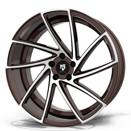 Mb design KV2 Bronze / Poleret