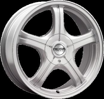 Mega Wheels Copera Silver