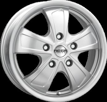 Mega Wheels Ferrera 5 Hyper silver