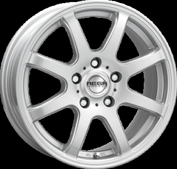 Mega Wheels Hastera Silver
