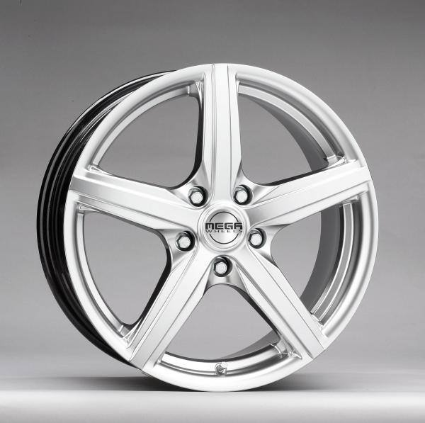 Mega Wheels Heliosera Hyper silver