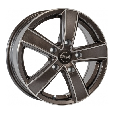 Mega Wheels Hercules 5 Anthracite grey front polished