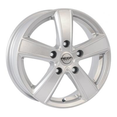 Mega Wheels Hercules 5 Silver