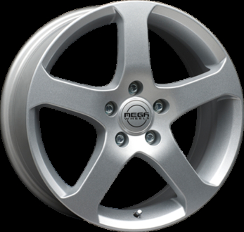 Mega Wheels Indus Trailer Silver