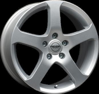 Mega Wheels Indus Silver