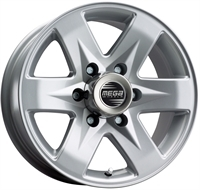 Mega Wheels Rockera Silver
