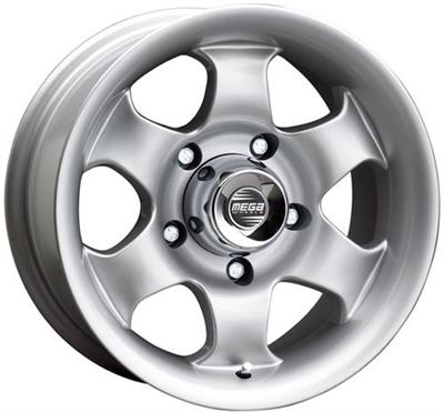 Mega Wheels Terrera Silver