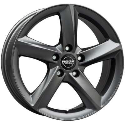 Mega Wheels Tigera Dark Mat anthracite grey