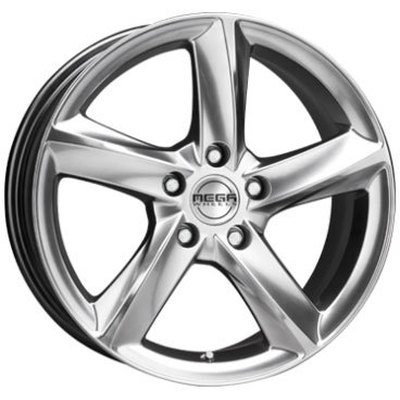 Mega Wheels Tigera Silver Silver