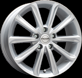 Mega Wheels Virgo Silver