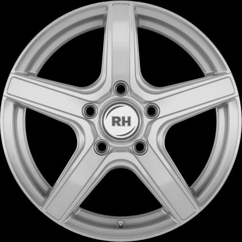 RH Alurad AR4 SPORT-Silber lackiert