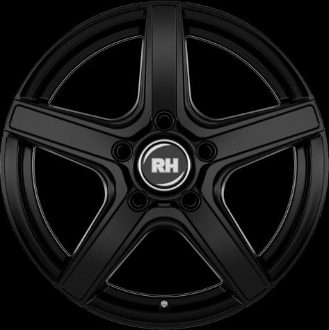 RH Alurad AR4 racing schwarz lackiert
