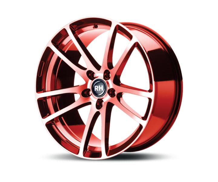 RH Alurad BO Flowforming color polished - red