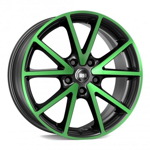 RH Alurad DE Sports color polished - green