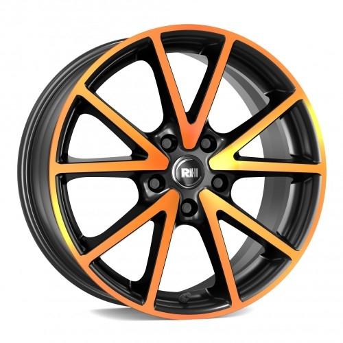 RH Alurad DE Sports color polished - orange
