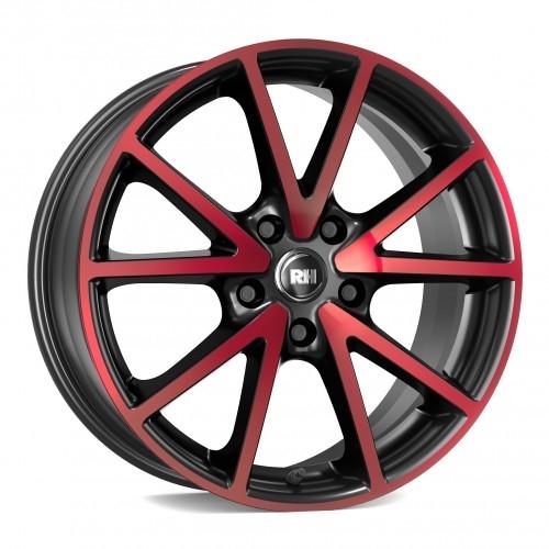 RH Alurad DE Sports color polished - red