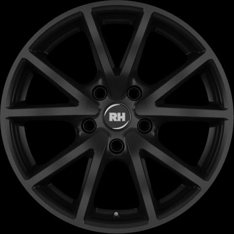 RH Alurad DE Sports racing schwarz lackiert