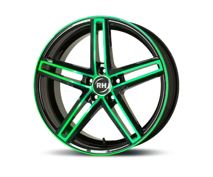 RH Alurad DG Evolution color polished - green