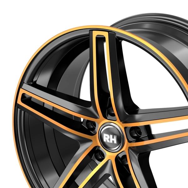 RH Alurad DG Evolution color polished - orange