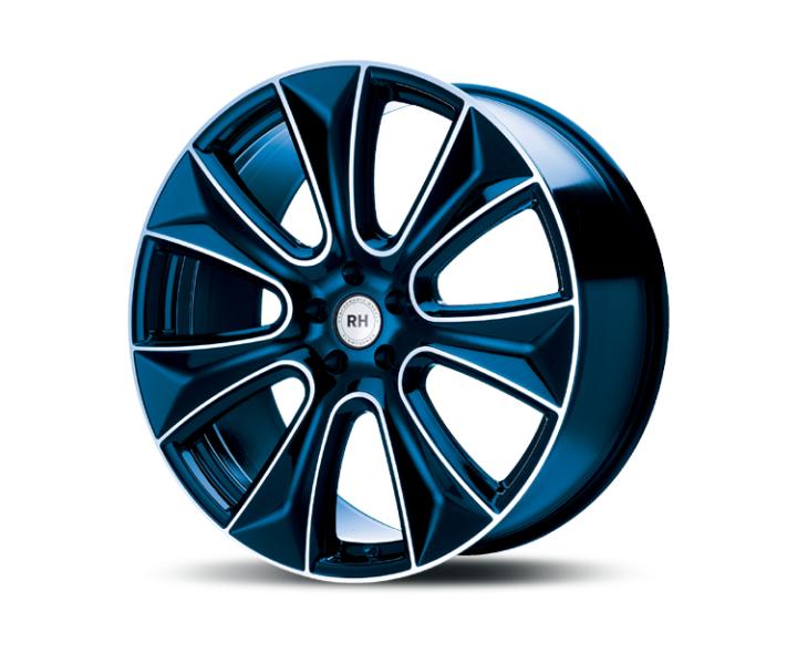 RH Alurad NAJ II color polished - blue