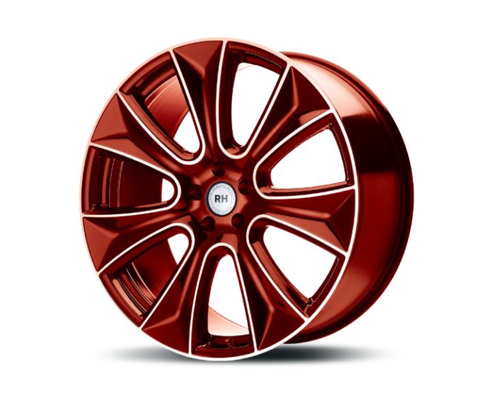 RH Alurad NAJ II color polished - red