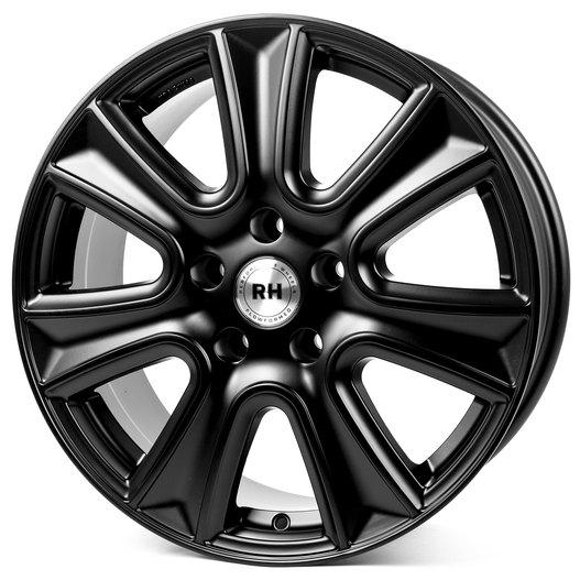 RH Alurad NAJ II racing schwarz lackiert