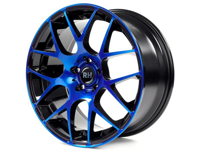 RH Alurad NBU Race color polished - blue