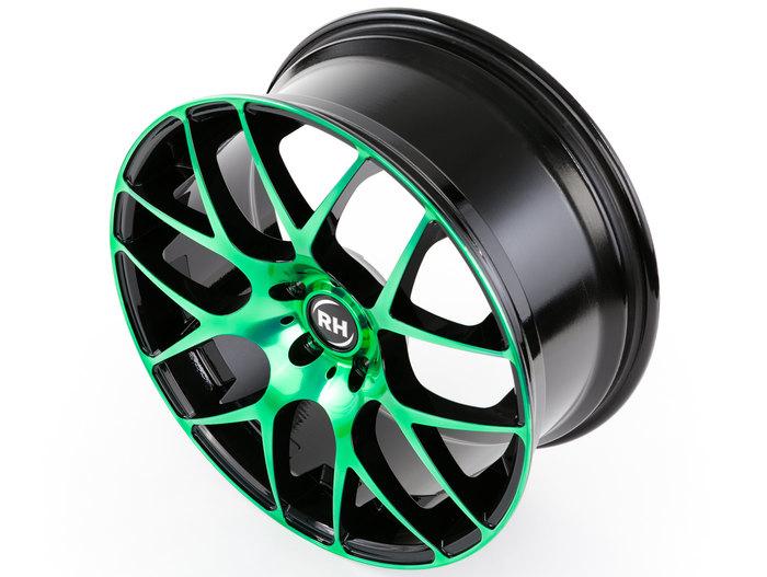 RH Alurad NBU Race color polished - green