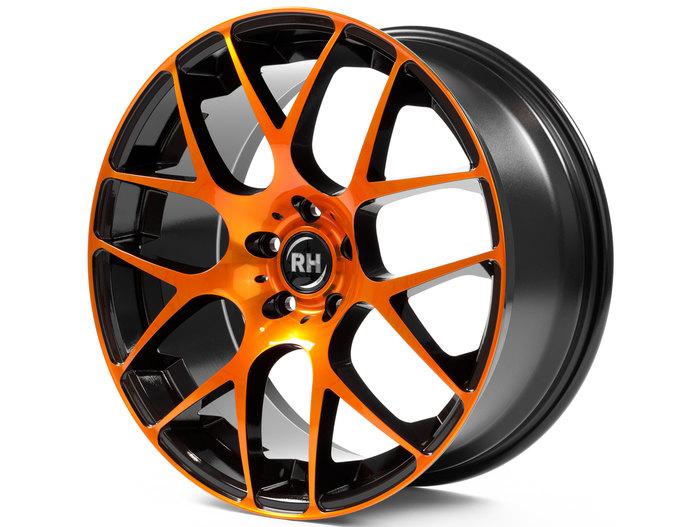 RH Alurad NBU Race color polished - orange