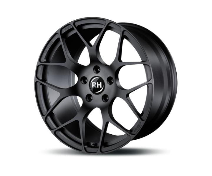 RH Alurad RSone racing schwarz lackiert