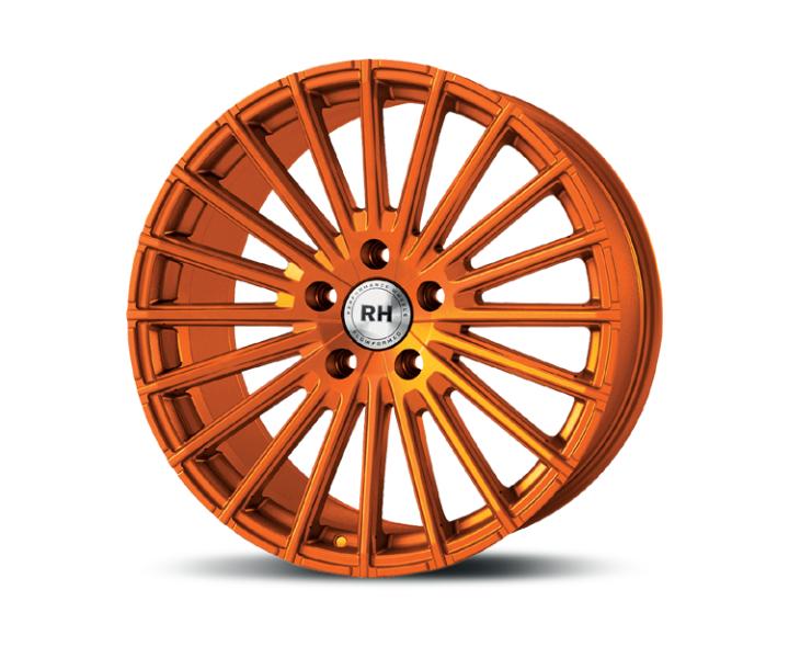 RH Alurad WM Flowforming color polished - orange